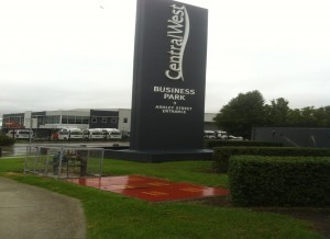 CentralWest Business Park Entry Signage